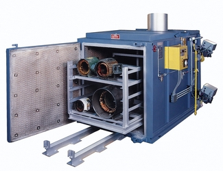 bake oven used in motor rewinding process