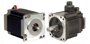 differences between servo motors and stepper motors