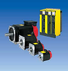 Fanuc Alpha-i Servo Motors, Spindle Motors & Servo Amplifiers