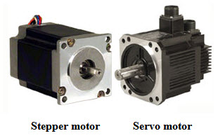 differences between stepper motors and servo motors